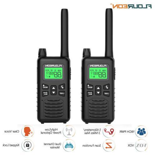 lcd screen 22channel 4 pack walkie talkie