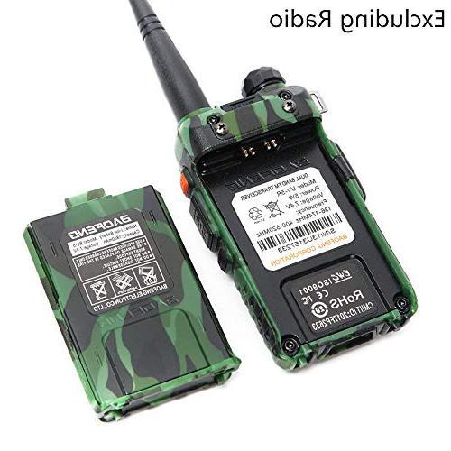 BAOFENG Battery Talkie UV-5RE BF-F8HP UV-5R Plus UV-5RTP Series Radio