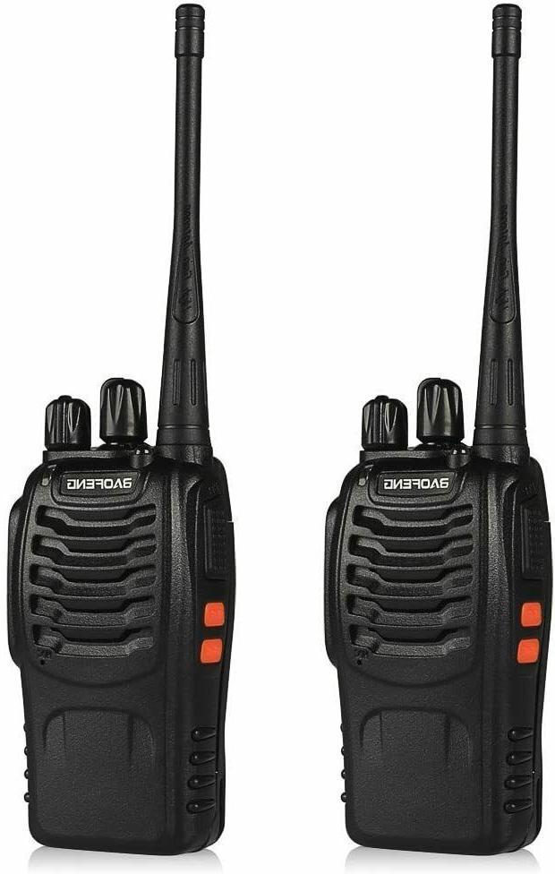 Long Range Walkie-Talkie 2 Set 50 Mile Two Way Radio Charge