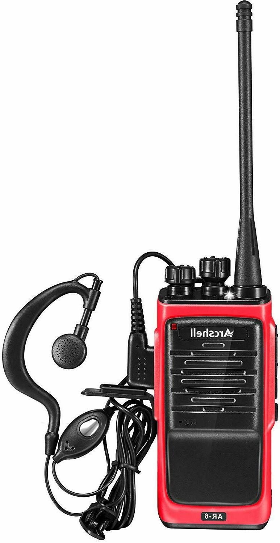 Long Range Talkie 4 50 Two Way Headset Waterproof