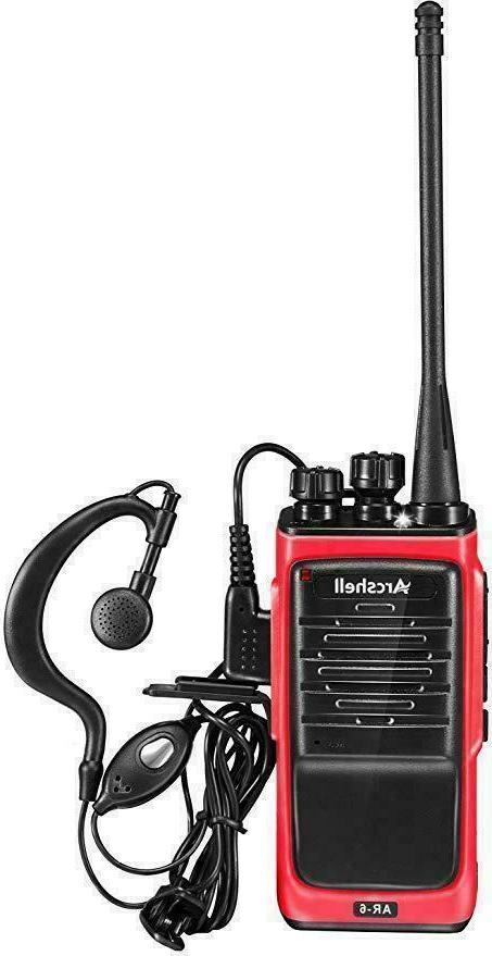 Long Walkie 4 50 Two Radio Headset