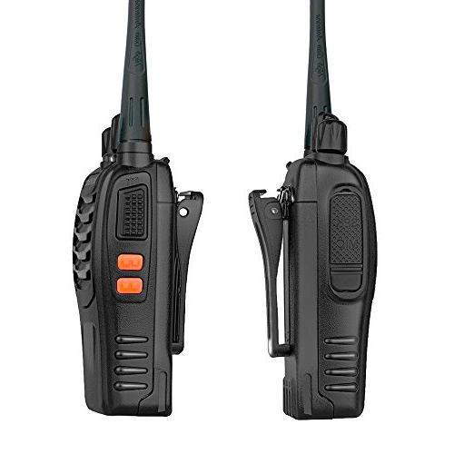 Ansoko Pack 2 Way Radio 400-470MHz 16-Channel for Outdoor Security Com etc.