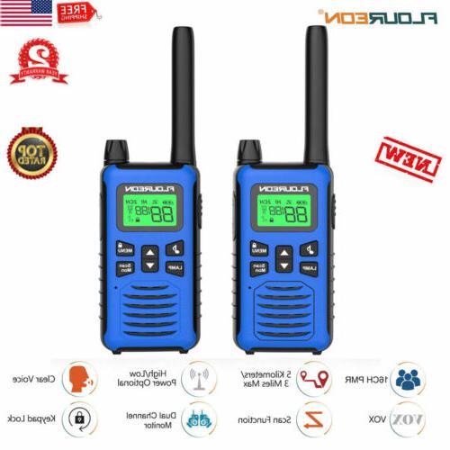 long range walkie talkie set 5000m two