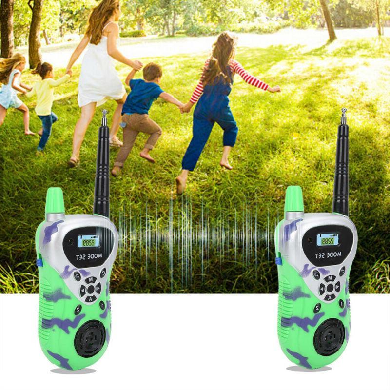 Kids Walkie Talkies Electronic Radio Interphone Training Out