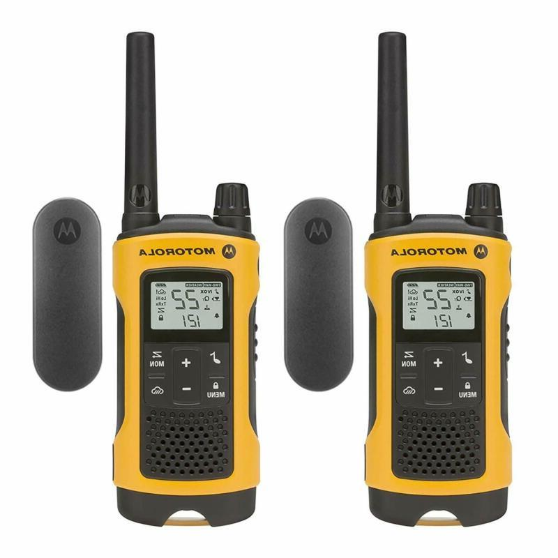 motorola talkabout t402 rechargeable two way radios