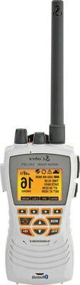 Cobra MR HH600W Floating GPS VHF Radio w-Bluetooth - White *