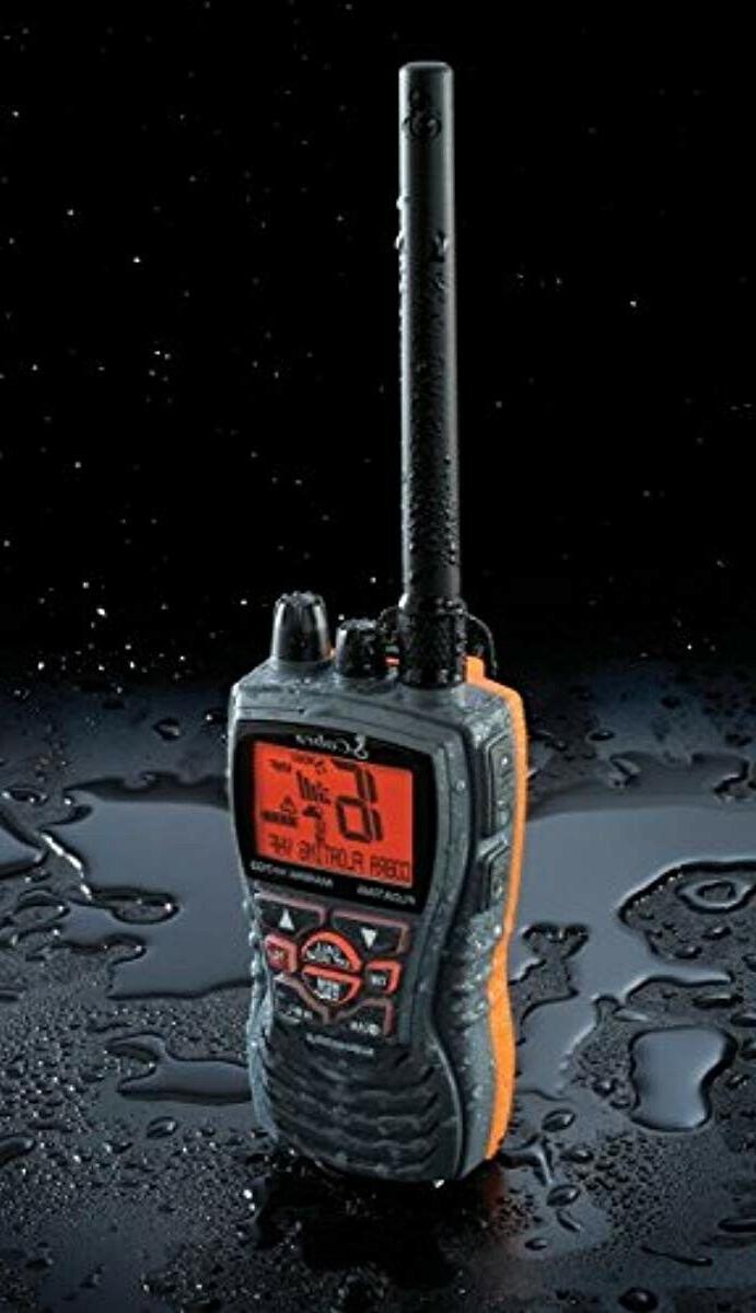 Cobra MRHH350FLT VHF Long Tri-Watch, BURP Feature