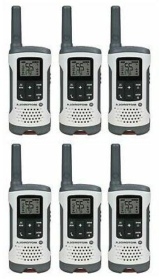 NEW Motorola T260TP Talkabout Walkie Talkie 6 Pack Set 2 Way