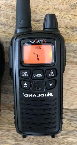 NWOB ~ Talk LXT600PA Walkie Talkies Batteries & Charger