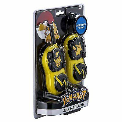 Pokemon Pikachu Range Walkie Talkies