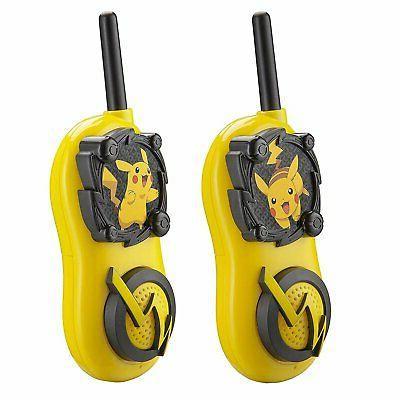 Pokemon Pikachu Kids Long Range Talkies