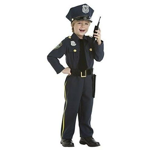 Police Costume Kids Halloween For