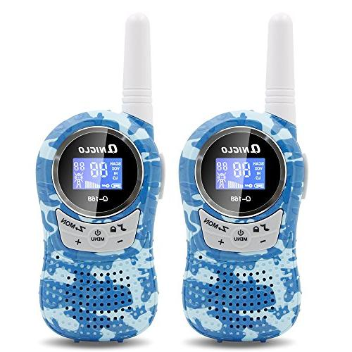 Qniglo Walkie Talkies for 22 with 3 Long Range Talkies