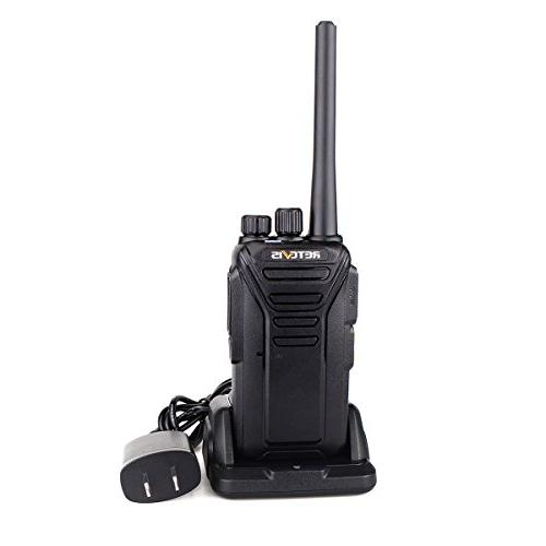 Retevis Rechargeable 2 Way Radio Scrambler FRS