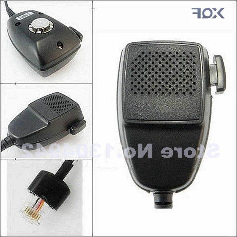 radio 8 pin speaker mic hand font