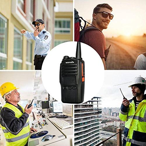 2 Way Radio UHF Handheld Ham Walkie Talkies miles Long Distance Amateur Two-Way Radios Luiton