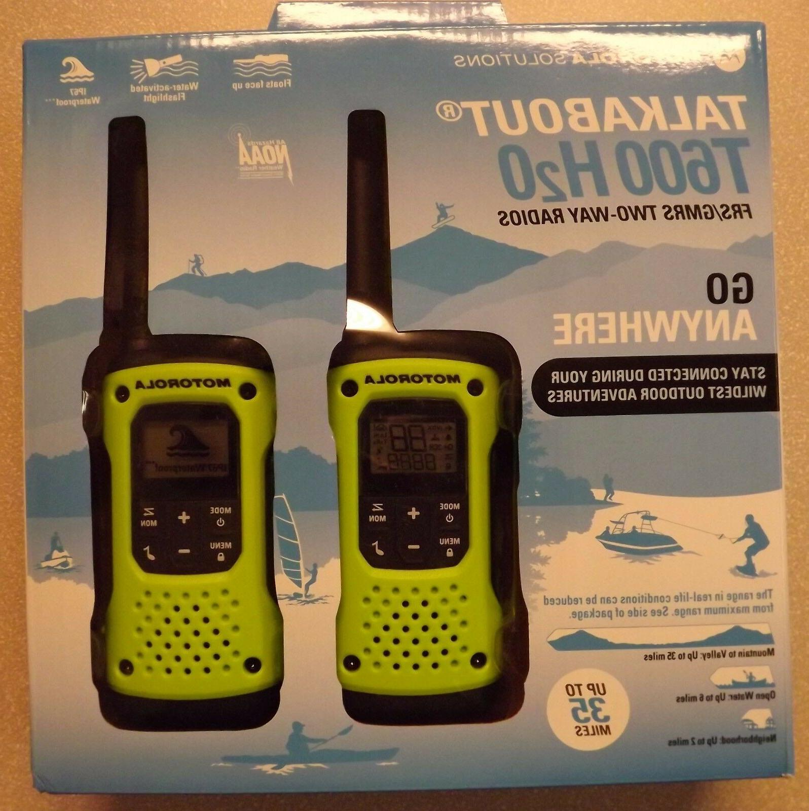 35 Mile Waterproof Radios