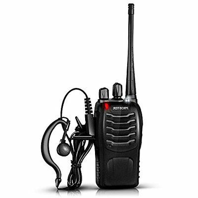 Proster Walkie with and Charger, P