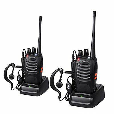 rechargeable 16 channel walkie talkie with earpiece