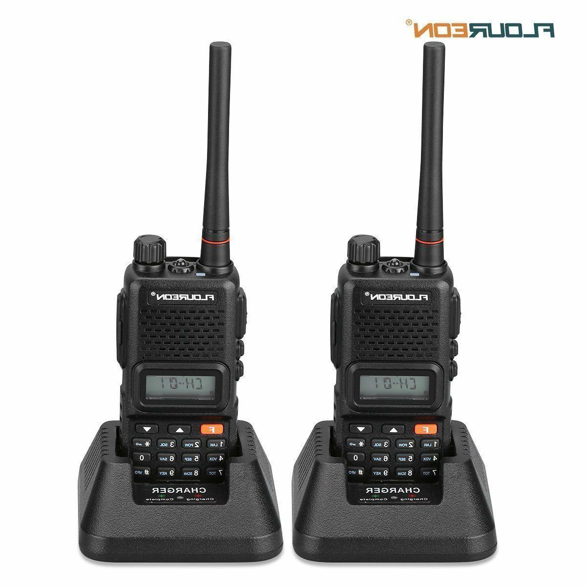 rechargeable walkie talkies 2 packs two way