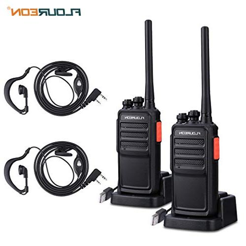 rechargeable walkie talkies 2 packs