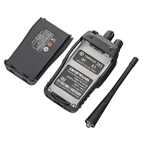 Funkprofi UHF Two Way Radio with Li-ion Battery, Charger