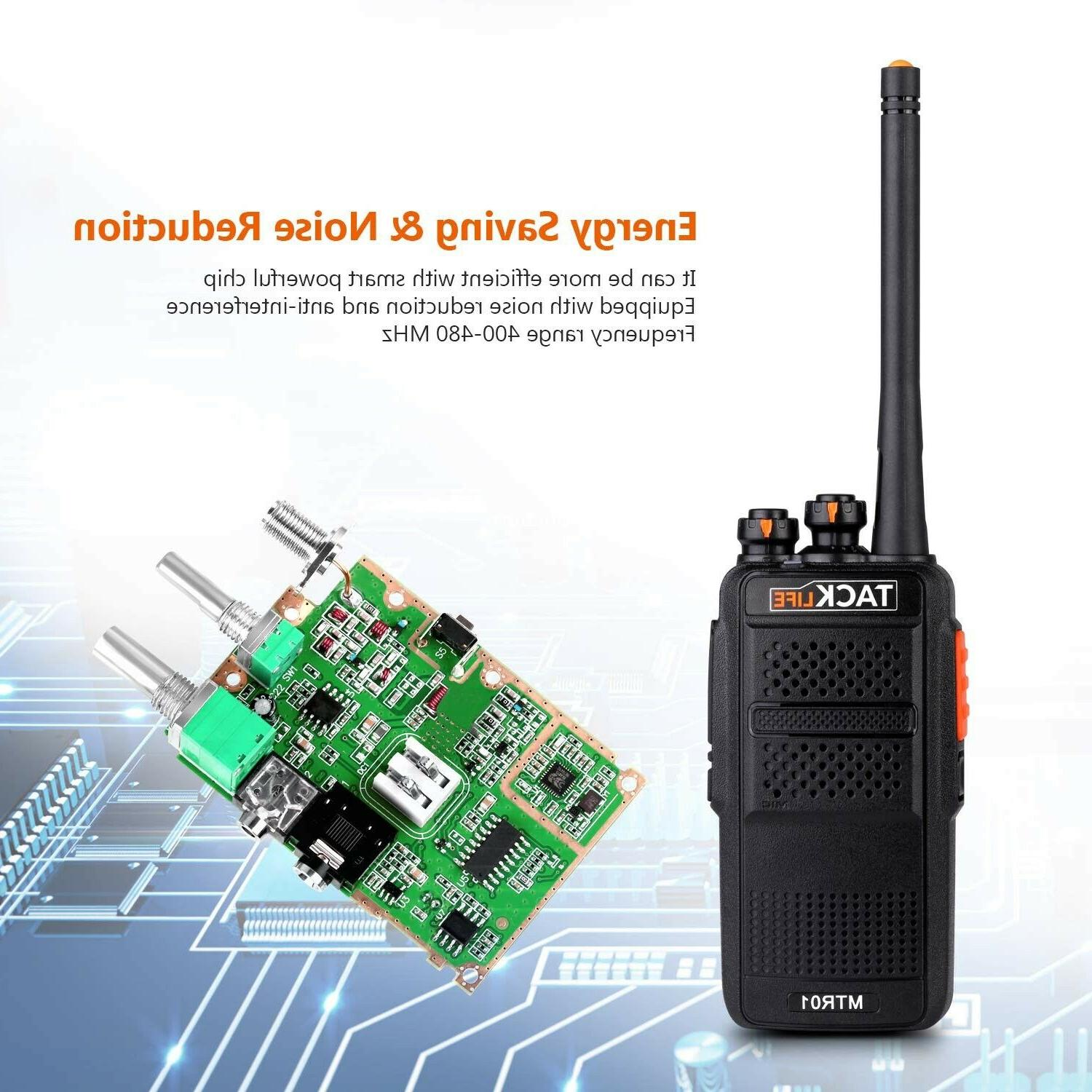 Rechargeable Walkie Range with UHF