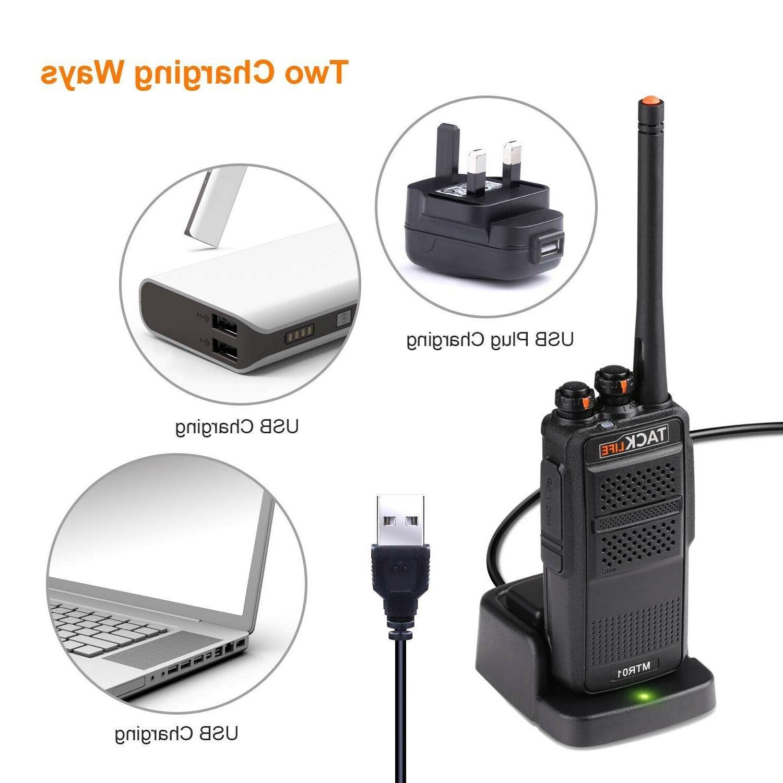 Rechargeable Walkie Range Radios with UHF