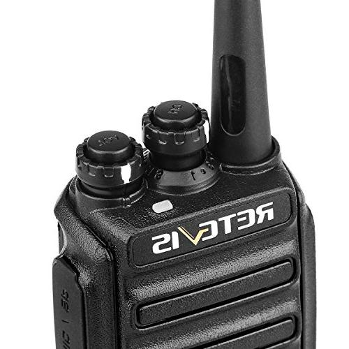 Retevis Two-way Radios Rechargeable USB