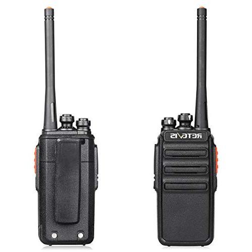 Retevis Two-Way Radios Long Range Radio Vox Walkie Talkies