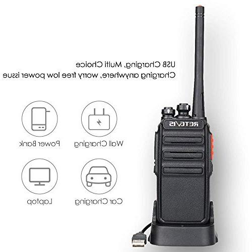 Retevis H-777S Radios Long FRS Radio Security Talkies with Earpieces