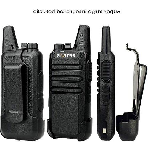 Retevis Rechargeable Hands Way Radios Way Gang Charger