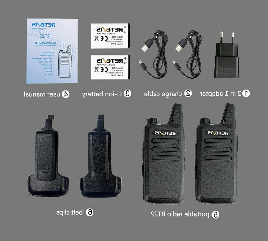 RT22 Long Range UHF16CH VOX Talkies