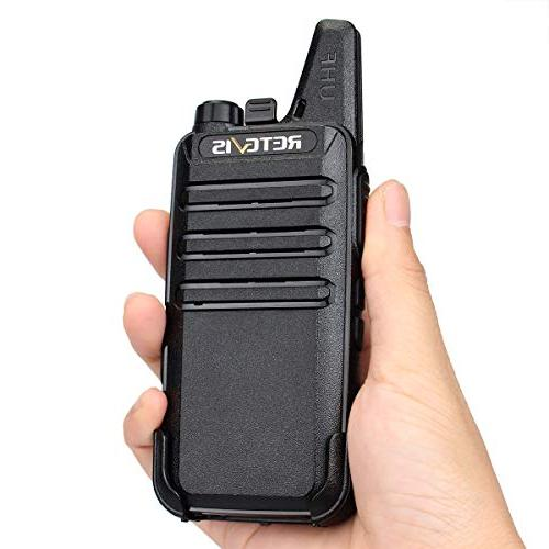 Retevis RT22 Walkie Rechargeable Hands Way with Six Way Gang Charger