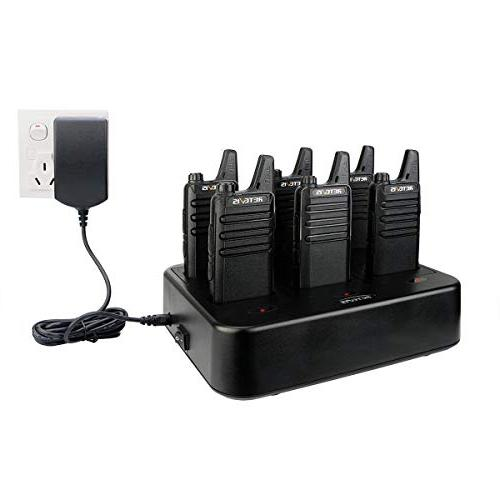 Retevis RT22 Rechargeable Way Radios Six Way Gang