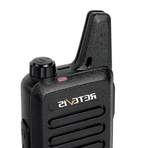 Retevis RT22 Rechargeable Free 2 Way Radios with Six Way