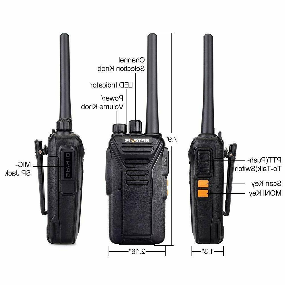Retevis RT27V Walkie Talkies VHF MURS Radio 5CH
