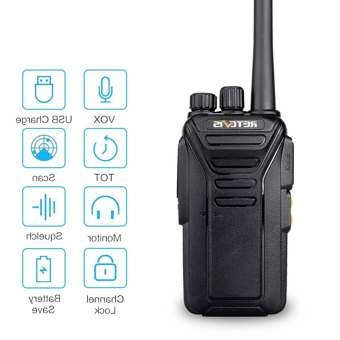 Walkie Talkies Way Range Headset Retevis RT27V