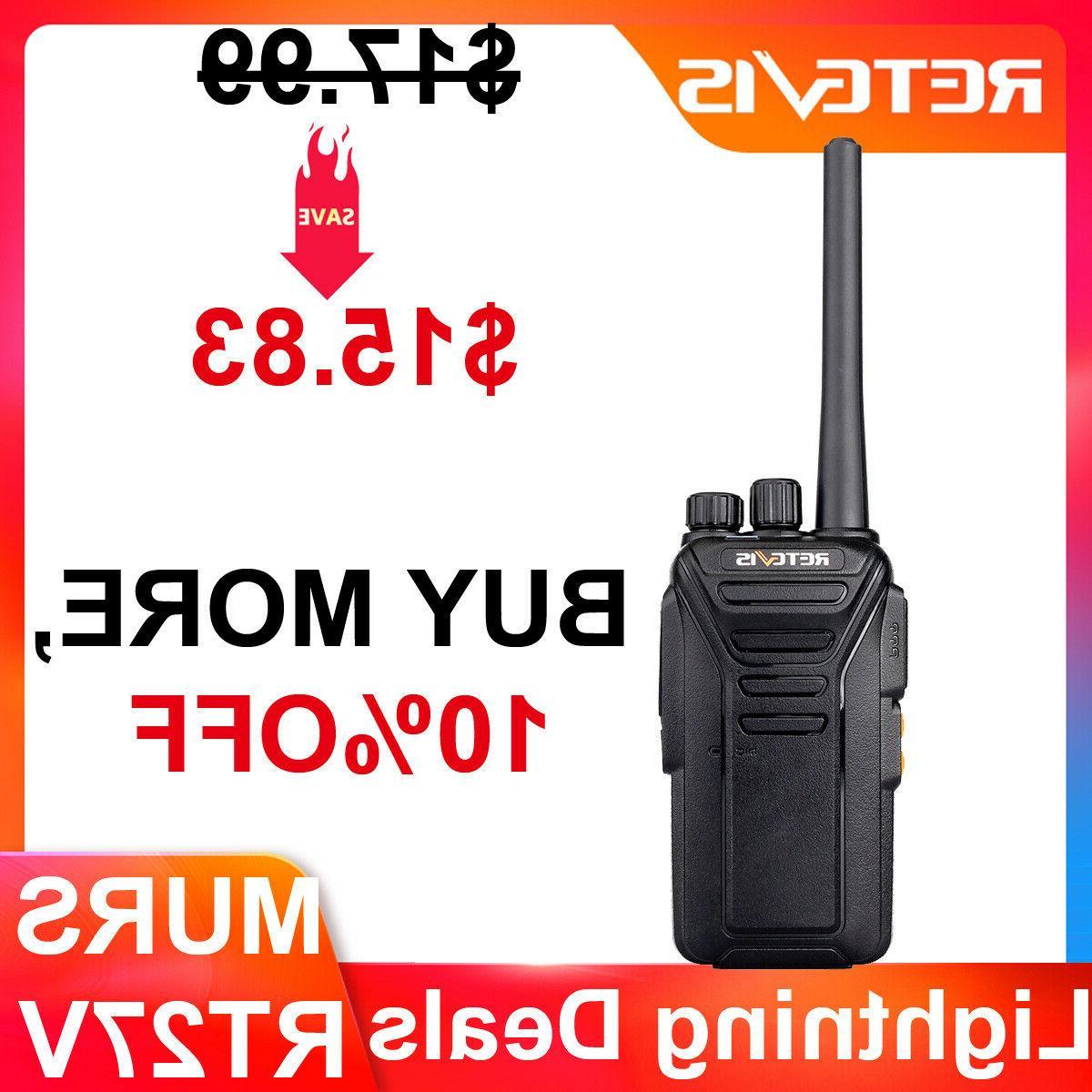 rt27 vhf murs two way radio analog