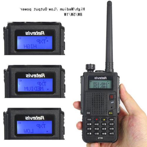 Retevis RT5 Dual UHF/VHF Talkies VOX FM Way Radio US