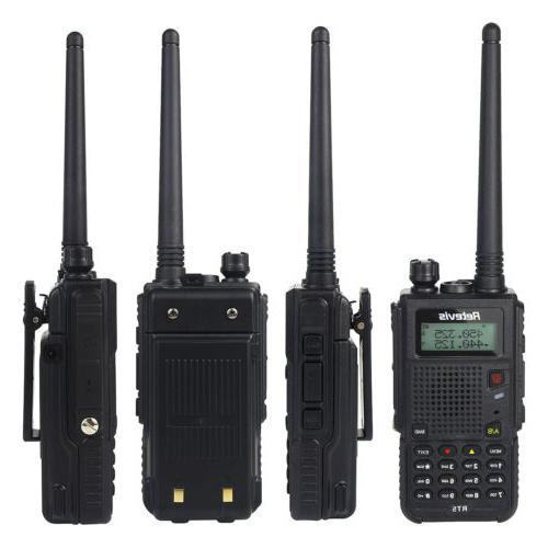Retevis RT5 Dual Band UHF/VHF Walkie 128CH VOX Way Radio US