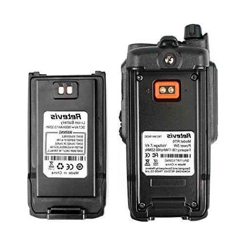 Retevis IP67 Dual Band VHF/UHF Way Radio with