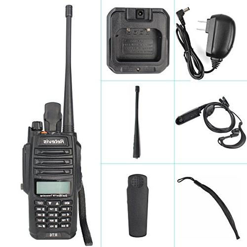 Retevis RT6 IP67 Band VHF/UHF with