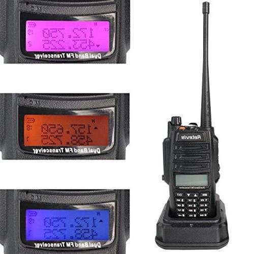 Retevis Walkie IP67 VHF/UHF with Earpiece