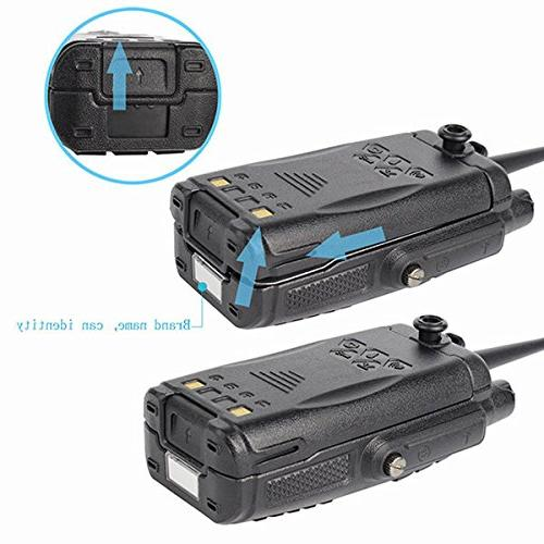 Retevis Walkie IP67 Waterproof Dual Band VHF/UHF with Earpiece