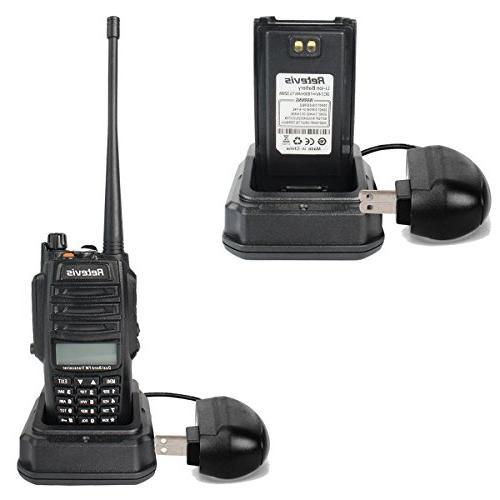 Retevis Walkie Talkies IP67 Dual Band VHF/UHF Way with