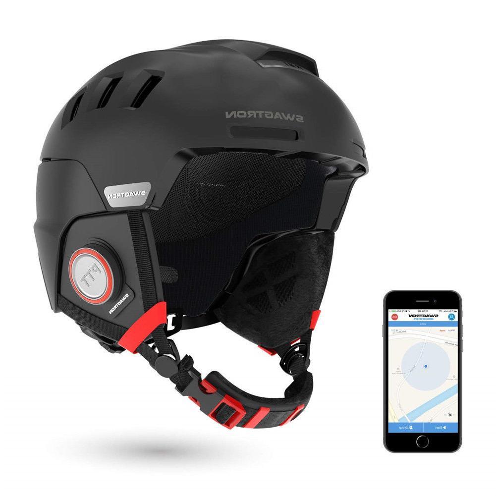 Swagtron Snowtide Bluetooth Ski & Snowboard Helmet Audio SOS