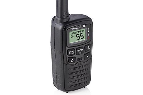 Midland X-Talker T10 22 Channel FRS Talkie - to 20 Radio, 38 Codes & Black