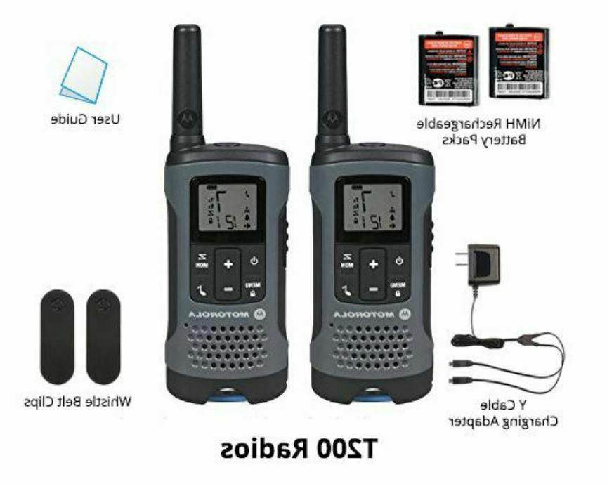 Motorola Talkabout T200TP Walkie Talkie Set Digital 20 Mile