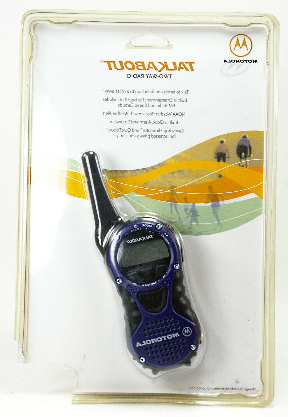 Motorola TalkAbout T6310 AA 2-Mile 14-Channel FRS Two-Way Ra
